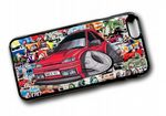Koolart STICKERBOMB STYLE Design For Retro Mk3 Ford Fiesta RS Turbo RST Hard Case Cover Fits Apple iPhone 6 & 6s